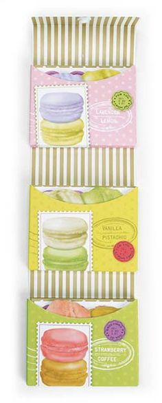 Macaron Mini Notes - New Releases ~ Best Christmas Presents for Teachers