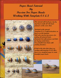 Paper Bead Tutorial C-1&2