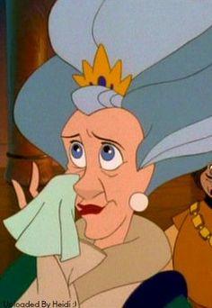 The Swan Princess: Derek's mother, Queen Uberta