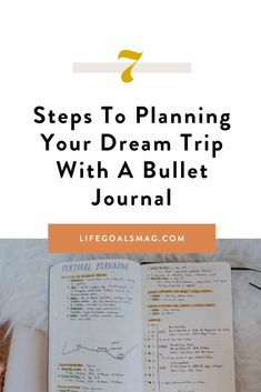 Here's how you can use the bullet journaling method to add a little bit of analog mindfulness and creativity to the process of planning your next vacation. Budget Travel, Travel Tips, Bullet Journal Spread, What Inspires You, Travel Memories, Travel Goals, Best Self, Life Goals, Self Improvement