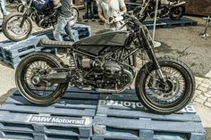 BMW R nine T at Glemseck 101, September 2014 Extremely cool custom!
