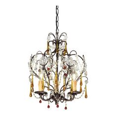I pinned this from the Gold Coast Lighting - Luxe Pendants, Sconces, Chandeliers & More event at Joss and Main!