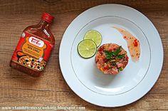 Clauditte Miss Cooking: Tatar z łososia po azjatycku