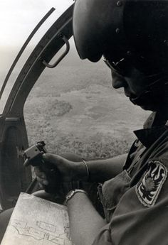 A captain of the 199th Light Infantry Brigade.  #VietnamWarMemories