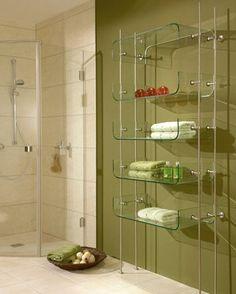 1000 images about estantes de vidrio on pinterest for Estantes vidrio bano