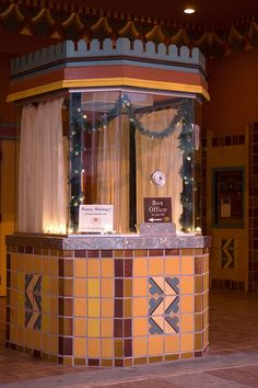 ~ Movie Theater Ticket Booths ~