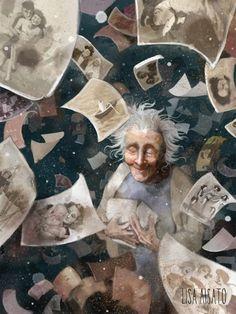 Tidløs | Lisa Aisato - nettbutikk Aalborg, Aged To Perfection, Science Fiction, Fantasy Art, Horror, Pure Products, Digital, Illustration, Artist