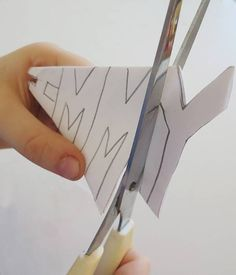 Cool Ideas for Kids: Making Name Snowflakes