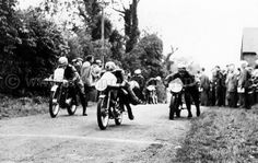Historic shot from the Temple 100 races in Ulster.