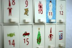maileg adventskalender  ATTENTION! I want to buy one of these, if anyone has one!