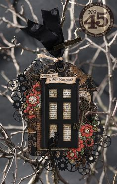 Olga's amazing tag that was created with Graphic 45 Steampunk Spells!