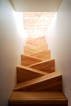 Wayyyy cool staircase