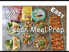 Vegan Meal Prep   NO MOCK MEATS   #HighProteinVegan Bodybuilding   www.HollyBrownFit.com