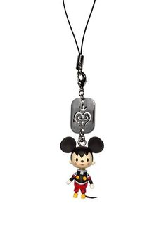 Kingdom Hearts Avatar Strap: King Mickey [Accessories] by Square Enix