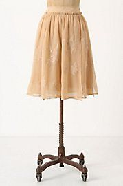 Embroidered Paperwhites Skirt$178.00 Anthropologie