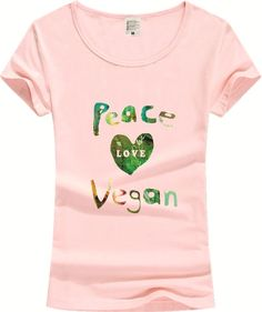 Our new Peace, Love & Veg... is/are limited in supply! Get yours here  http://hermajestysgoods.com/products/peace-love-vegan-tee?utm_campaign=social_autopilot&utm_source=pin&utm_medium=pin before it's gone!
