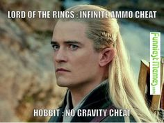 Funny Memes - [Lord Of The Rings: Infinite Ammo Cheat...]