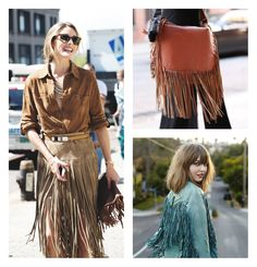 Would You Wear... a Fringe Suede Skirt? - Dive Into Fashion