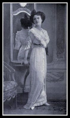 Beautiful Edwardian Dress 1912