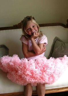 Angels Face Rose Pink Pettiskirt worn with a Rose Pink Angel Sleeve T-shirt