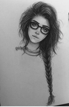 Girly_m Chica, lentes, cabello despeinado