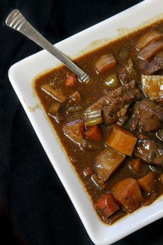 This hearty and delicious Venison Stew is pure comfort food! If you don't like venison substitute the venison for stew meat. I promise your family will eat it by the bowl full! Cook in the crockpot or instant pot Venison Stew Slow Cooker, Venison Roast Crockpot, Cooking Boneless Pork Chops, How To Cook Venison, Venison Meat, Cooking Venison, Venison Chops Recipes, Stew Meat Recipes, Recipes