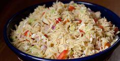 Macheesmo: Greek Orzo Salad