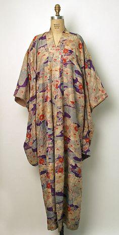 56354f4858 early 20th century Culture  Japanese Medium  silk Kimono Coat
