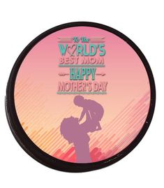 Get 10% off all customized sports gear by Make-A-Ball with the code Pin10! Never cross a hockey mom! Design her a special gift for all of her support. Perfect Mother's Day Gift!