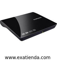 Ya disponible Regrabador dvd Samsung externo negra (reproduce en tv)   (por sólo 35.89 € IVA incluído):   -Samsung SE-208DB. -Conexion: USB 2.0 -Velocidad de la escritura: 24 x, 24 x, 24 x, 6 x, 6 x, 6 x, 8 x, 24 x, 8 x, 6 x. -Velocidad de la lectura: 24 x, 5 x, 8 x, 6 x, 24 x, 6 x, 8 x, 24 x, 8 x, 24 x, 8 -Tiempo de acceso: 150 ms, 150 ms. -Impulsión óptica: Bandeja, 1 MB, DVD±R/RW, Horizontal. -Formatos de los medios: 120 mm. -Transmisión de datos: 10.8 MB/s. -Dimen