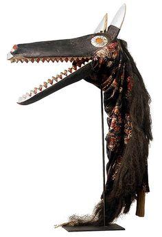Bamana Animal Puppet 49, Mali