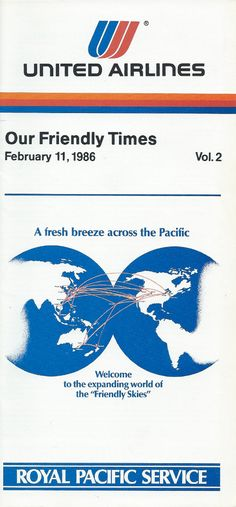 United - acquisition of Pan Am's Pacific Division 1986 — weninchina