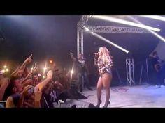 Manú Batidão primeira musica cantada no show realizado em Manaus