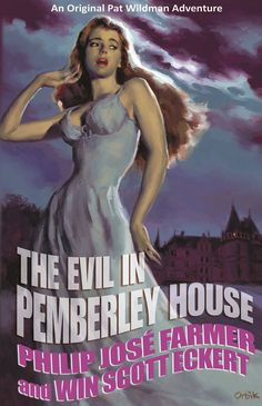 The Evil in Pemberley House - trade paperback edition from Meteor House - cover by Glen Orbik