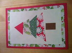 Fun Christmas tree design.