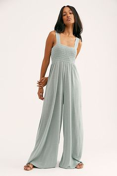 Homecoming Jumper - Best Fashions for All Mom Outfits, Stylish Outfits, Spring Outfits, Wide Leg, Jumpsuit Casual, Jumper, Looks Style, My Style, Free People