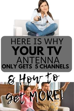 Paying a one time fee for your TV Antenna is way cheaper than paying for cable. If you are only getting a couple channels there are a few reasons why. Love the comments on this post. Diy Tv Antenna, Tv Without Cable, Cable Tv Alternatives, Cut Cable, Cable Box, Free Tv And Movies, Tv Hacks, Tv Options, Free Tv Channels