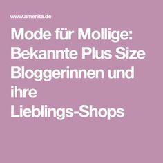 Mode für Mollige: Bekannte Plus Size Bloggerinnen und ihre Lieblings-Shops