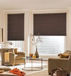 Modern contemporary window treatments with mid century for Bali blinds motorized remote control