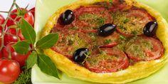 Tarte fine tomate-pesto