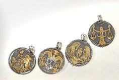 KONSTANTINO | The Zodiac Women collection #rings #bracelets #bangles #konstantino #jewelry #greekJewelry #jewels #treasure #womensfashion #Iliada #rockJewelry #gold #silverSterling #elegance #gemstone