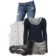 A fashion look from September 2014 featuring Bench tops, Nordstrom and Charlotte Russe boots. Browse and shop related looks.