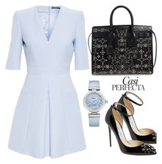"""""""Rise From The Ashes"""" by fellymeza ❤ liked on Polyvore featuring Jimmy Choo, Yves Saint Laurent, Alexander McQueen, Whiteley and OMEGA"""