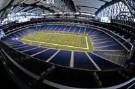 Ford Field - Home of the Detroit Lions . has hosted one Super Bowl in 2006 Detroit Lions Football, Detroit Sports, Nfl Football Teams, Lions Team, Sports Teams, Football Season, Central Michigan, Detroit Michigan, Ford Field