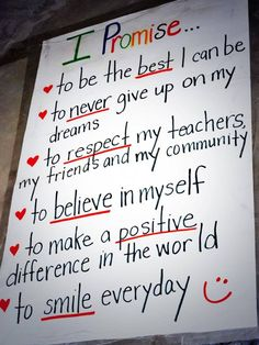 A dose of inspiration! Never give up on your dreams. Poster at the Kisaruni School in Kenya (high school for girls).