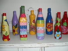 Casa de Boneca Decor: ♥ Garrafas recicladas...mais algumas ♥
