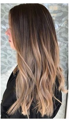 Blonde Hair With Roots, Blonde Hair With Highlights, Brown Blonde Hair, Short Blonde, Blonde Brunette, Balayage Hair Brunette Long, Light Brown Highlights, Balayage Straight Hair, Light Brown Ombre Hair