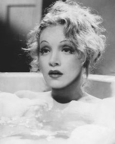 """dietrichdaily: """" delectable Marlene bathes in Knight Without Armour, 1937. """""""