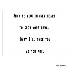 The Weeknd - As You Are  (Beauty Behind The Madness).