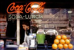 Title: Coca-Cola, NYC Artist: Frank Paulin Date of image: 1956, printed later Size: 11x14 inches Format: archival pigment